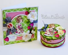 WOW!! What a gorgeous home-made gift tin and matching card.... Whiff of Joy - Tutorials & Inspiration