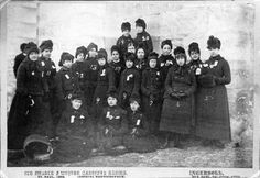 Carnival group, St. Paul Winter Carnival, 1886