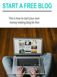 This how to set up your own money making #blog for