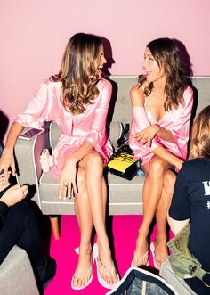 You'll Only Hear These Beauty & Health Tips Backstage at Victoria's Secret: From gallons of Evian to to adamant sun protection, to the pros and cons of birth control, click through as some of our favorite VS models (Bella Hadid, Sara Sampaio, and Ming Xi are just three) share their beauty essentials, workout tips, and what it feels like to walk the world's most publicized fashion show—in your bra and undies.   coveteur.com