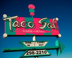 Taco Sal Vintage Sign | Albuquerque, New Mexico