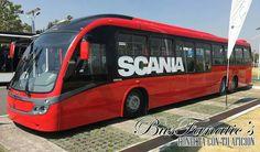Scania Neobus mega brt México congreso internacional de transporte sustentable de México parque bicentenario