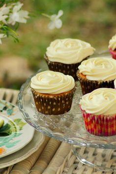 receta de cupcakes de manzana