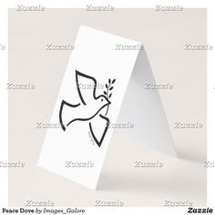 Peace Dove Business Card Folded Business Cards, Folded Cards, Dove Images, Peace Dove, Image Gifts, Soft Colors, Place Card Holders, Prints, Fun