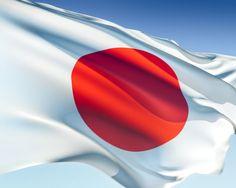 japanese flag Bandera de Japon