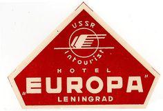 intourist hotel europa ussr