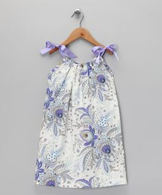 Purple Floral Dress - Toddler & Girls by Peppermint Pony on #zulily today!