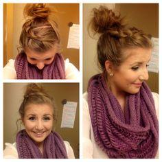 Fabulous So Cute School Hair And Your Hair On Pinterest Short Hairstyles Gunalazisus