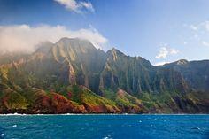 """""""Na Pali coast"""" by rjdecamp #flickr #hawaii-Kauai, Hawaii"""