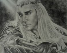Lee Pace as Thranduil, King of the Woodland Realm by sadronniel on DeviantArt