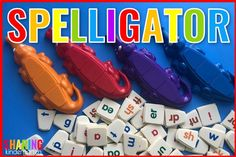 Spelligator game for sounding out fun