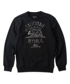 Love this Black Prospector Sweatshirt by O'Neill on #zulily! #zulilyfinds