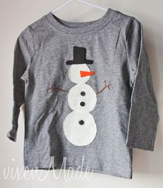 vixenMade: Christmas Shirts for the Kids: Part 2