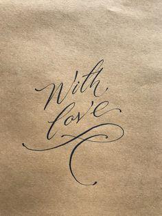 Forever and always . Alphabet Art, Calligraphy Alphabet, Calligraphy Fonts, Modern Calligraphy, Caligraphy, Types Of Lettering, Script Lettering, Vintage Lettering, Lettering Design