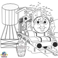 Free-online-printable-Boys-drawing-worksheets-tank-engine-Thomas-the-train-coloring-pages-for-kids_002.jpg 700×700 pixels