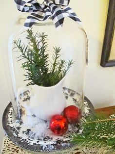 Still Keeping On The Narrow Way: 2014 Christmas Home Tour: The Mudroom And Living Room @stillkeepingonline