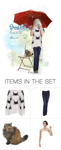 """""""3101 - Selfie doll"""" by niwi ❤ liked on Polyvore featuring art"""
