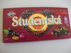 Studentska Dark Blackcurrant choc .. would like to try this!