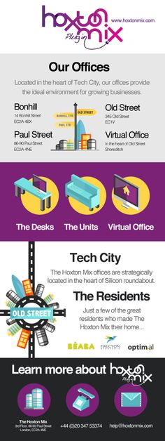 Shoreditch Office Space, Co-working, Desk Rental and Virtual Offices in London's Silicon roundabout, the digital hub of London encompassing Shoreditch, Hoxton and Old Street. Your space to create.
