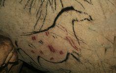 Cueva de la Pileta - Cuevas, Benaoján - Provincia de Málaga y su Costa del Sol, Spain Old Stone, Stone Age, Ancient Art, Ancient History, Art Pariétal, Paleolithic Art, Spain Images, Horse Art, Stone Painting
