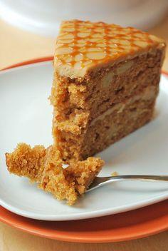 Karamell-Apfel-Torte