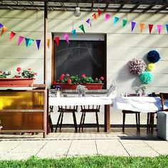 #familypartytime #helloweekend #decorations