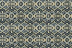 RHYTHM WAVES - ROBERT ALLEN FABRICS INDIGO