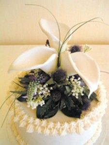 """70 Best Natural Scotland""""..Flowers"""" Wedding..Cakes! images ..."""