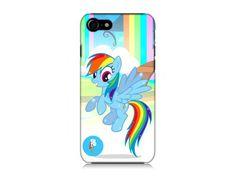 My little Pony Rainbow Dash Hard Phone Case For iPhone, Samsung and any other phones. by 3Dprintedcrafts on Etsy