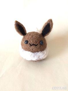 Needle Felted Eevee Eeveelution Pokemon  Made to by TamashiOhana