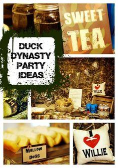 Duck Dynasty Themed Birthday Party - www.spaceshipsandlaserbeams.com