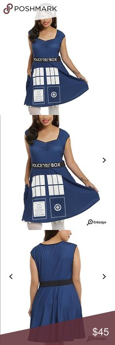 Doctor who tardis cosplay dress Doctor who tardis cosplay dress. Brand new Hot Topic Dresses Midi