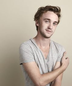 Tom Felton AKA Draco Malfoy from Harry Potter looks so nice in real life!