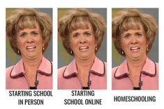 funny back to school meme - online school homeschool funny back to school meme