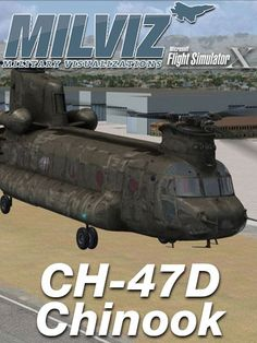 MILVIZ : CH-47D Chinook The highly recognizable twin-engine, tandem rotor heavy-lift Ch-47 Chinook entered service in the early 1960s. With a top speed of 170 knots, it was faster than many contemporary utility and attack helicopters of that era. The Chinook is one of a very few aircraft from that period, such as the C-130 Hercules and the UH-1 Iroquois, that is still in production and front line service. Improved and more powerful versions of the CH-47 have been developed since the…