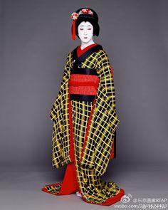 Kabuki - 梅雨小袖昔八丈よりお熊 坂東玉三郎 Tamasaburo Bando
