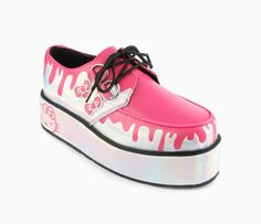 Hello Kitty x T.U.K. Mondo Sole Creepers: Drip.  Too bad not in my size.