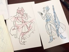 Gave those Kylo and Rey sketches the Inktober treatment since my art block has… Doodle Inspiration, Character Design Inspiration, Geeks, Rebecca Chan, Star Wars Drawings, Arte Sketchbook, Star Wars Fan Art, Reylo, Disney Style