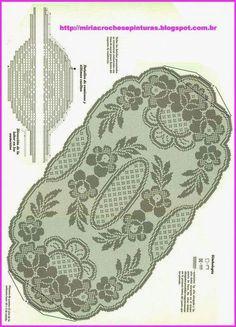 Crochet Crown of Hearts Doily Free Pattern - Crochet Doily Free Patterns Crochet Table Runner Pattern, Crochet Doily Diagram, Filet Crochet Charts, Crochet Doily Patterns, Crochet Tablecloth, Crochet Designs, Crochet Doilies, Crochet Lace, Crochet Cord