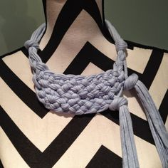 Knotted Scarves and accessories : First Challenge to complete