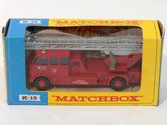 Matchbox K-15 King Size Merryweather Fire Engine $65.00