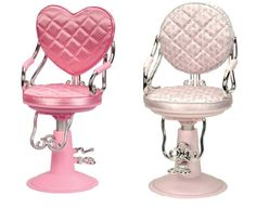 Image result for our generation hot pink salon chair for 18 dolls