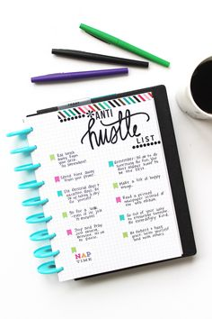 Notes pages are one of my favorite things about Happy Planners, because the disc-bound system makes it so easy to add and remove notes pages wherever you want. It's almost like you can bullet…
