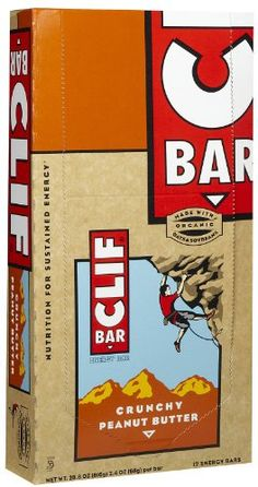 Clif Bar Energy Bars Crunchy Peanut Butter 24Ounce Bars 12 Count >>> Check out the image by visiting the link.Note:It is affiliate link to Amazon.