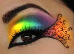 Amazing rainbow eyes