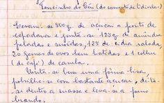 As Receitas da Avó Helena e da Avó Eduarda: Toucinho do Céu (do Convento de Odivelas)