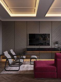 Modern classic interior - Галерея 3ddd.ru