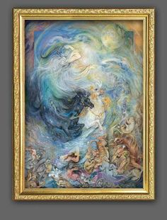 Mahmoud Farshchian is a master of Persian painting and miniatures. He was born in the city of Isfahan in Iran, a place famed for its art and artists, and it was here where he started to learn art, painting and sculpting.
