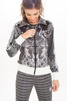 jaqueta pavão de cor adidas | FARM