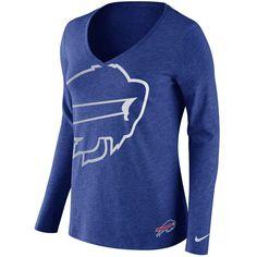 Nike Buffalo Bills Touchdown Women's V-Neck